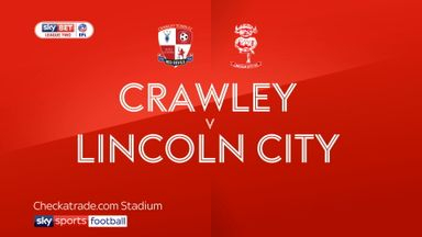 Crawley 3-1 Lincoln