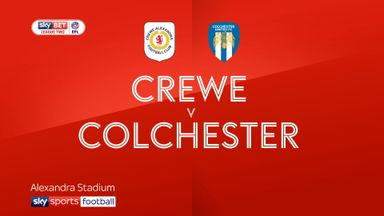 Crewe 1-0 Colchester