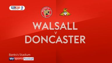 Walsall 4-2 Doncaster