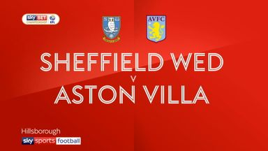 Sheff Wed 2-4 Aston Villa