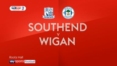 Southend 3-1 Wigan