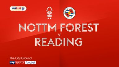 Nottm Forest 1-1 Reading