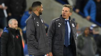 Puel: We will help Mahrez to come back