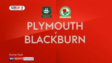 Plymouth 2-0 Blackburn