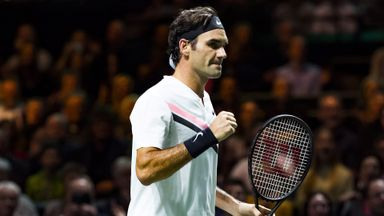 Federer v Seppi: Highlights