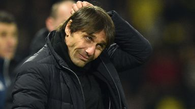 Conte 'not worried' about losing job