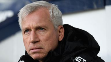 Pardew admits job uncertainty