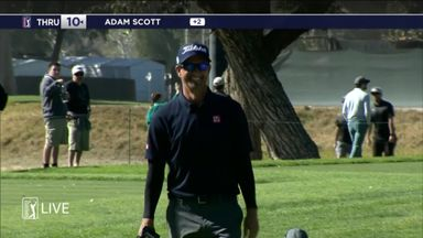 Scott's monster eagle putt