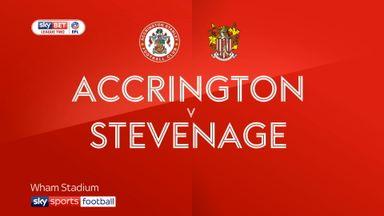 Accrington 3-2 Stevenage
