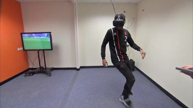 Blackpool's VR training session