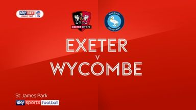 Exeter 1-1 Wycombe