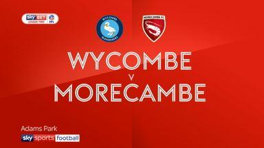 Wycombe 2-4 Morecambe