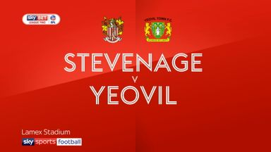Stevenage 4-1 Yeovil