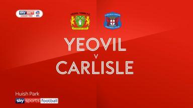 Yeovil 0-1 Carlisle