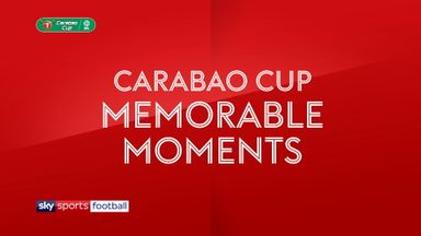 Memorable League Cup final moments