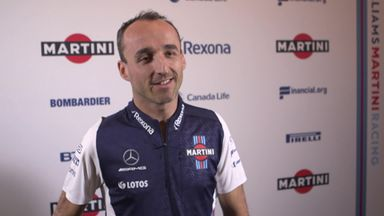 Kubica on his F1 future