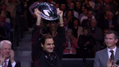 Federer wins Rotterdam Open