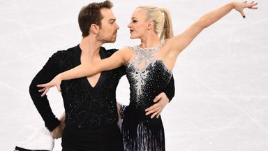 British ice dancers head to final day