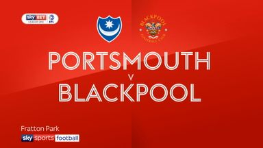 Portsmouth 0-2 Blackpool