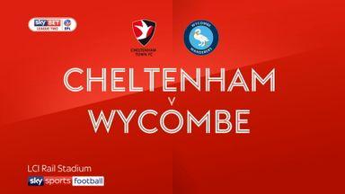 Cheltenham 0-2 Wycombe