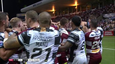 Tempers flare in Wollongong!
