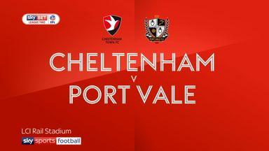Cheltenham 5-1 Port Vale