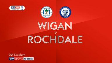 Wigan 1-0 Rochdale