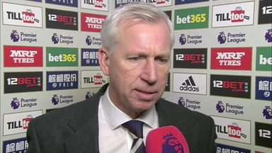Pardew: We didn't have enough energy