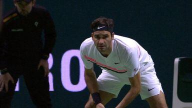 Federer v Kohlschreiber: Highlights