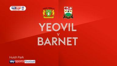 Yeovil 2-0 Barnet