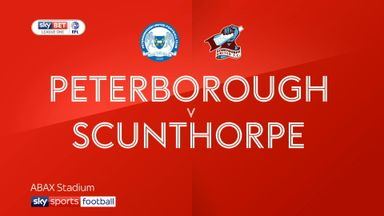 Peterborough 2-2 Scunthorpe