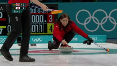 GB suffer narrow curling defeat