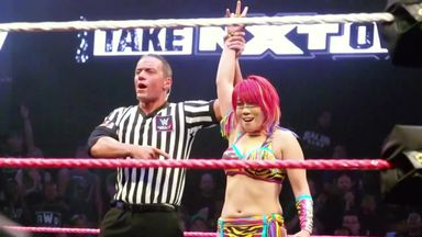 Asuka's undefeated streak by the numbers