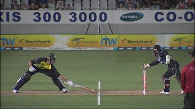 NZ v Aus: Tri-Series final highlights