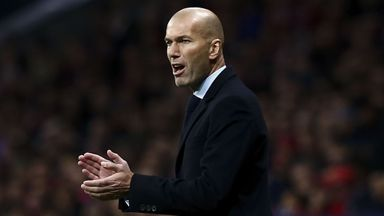 Zidane not worried for Real future