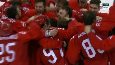 OAR beat Germany to win ice hockey gold