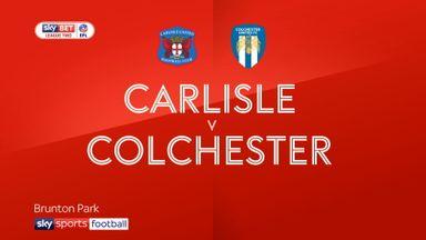 Carlisle 1-1 Colchester