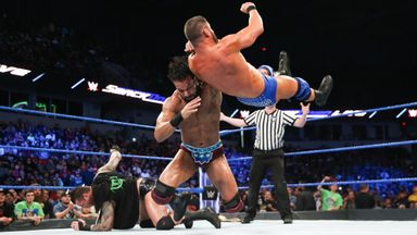 Mahal beats up Roode and Orton