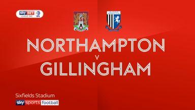 Northampton 1-2 Gillingham