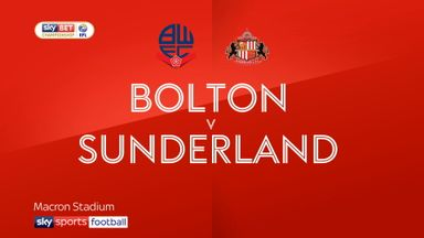 Bolton 1-0 Sunderland