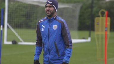 Mahrez returns to training