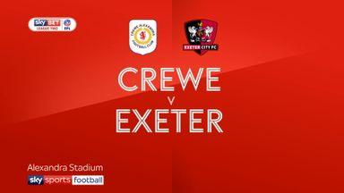 Crewe 1-2 Exeter