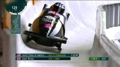 British bobsleigh team struggle