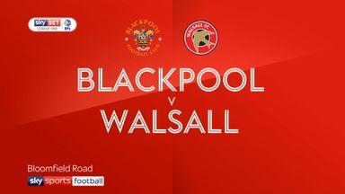 Blackpool 2-2 Walsall