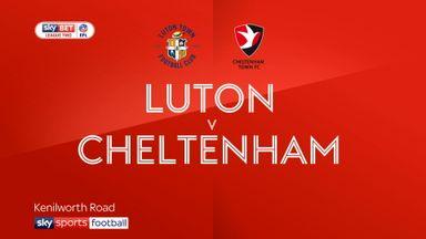 Luton 2-2 Cheltenham