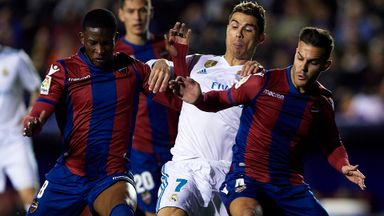 Levante 2-2 Real Madrid