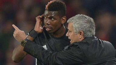 Jose praises Pogba's professionalism