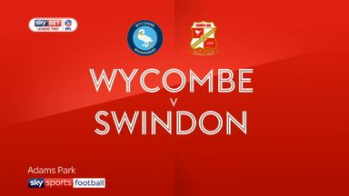 Wycombe 3-2 Swindon