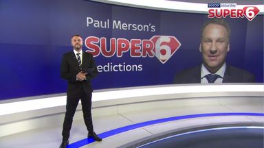 Paul Merson's Super Six predictions