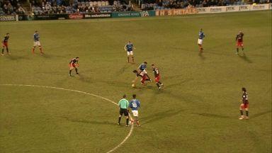 Blackburn's reckless red card